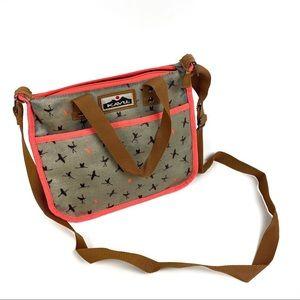 KAVU Crossbody Bird Flamingo Bag Tote